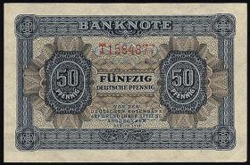 R.339d: 50 Pfennig 1948 Serie T (2/1)