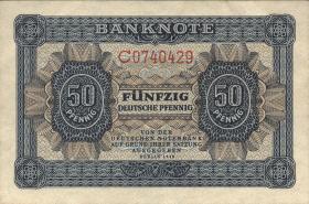 R.339d: 50 Pfennig 1948 Serie C 7-stellig (2+)