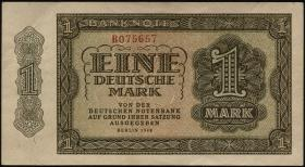 R.340a: 1 DM 1948 6-stellig Serie B (1-)