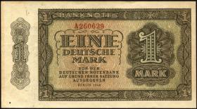 R.340a: 1 DM 1948 6-stellig Serie A (1/1-)