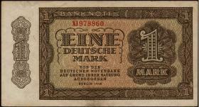 R.340c 1 DM 1948 XI Ersatznote (1-)