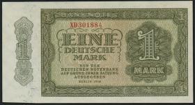 R.340c 1 DM 1948 XD Ersatznote 6-stellig (1)