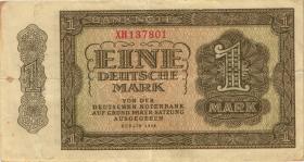 R.340c 1 DM 1948 XH 6-stellig Ersatznote (3)