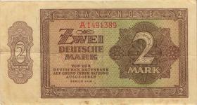 R.341a 2 DM 1948 6-stellig Serie A (3)