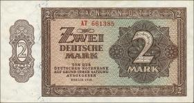 R.341b 2 DM 1948 6-stellig Serie AT (1)
