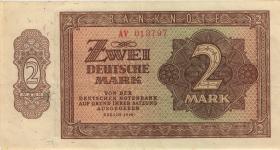 R.341b 2 DM 1948 6-stellig Serie AV (2)