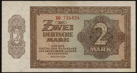 R.341c 2 DM 1948 Serie XD Ersatznote (1)