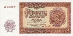 R.352b 50 Mark 1955 YB Ersatznote (1)