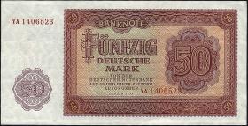R.352b 50 Mark 1955 YA Ersatznote (1)