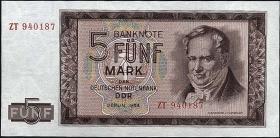 R.354b 5 Mark 1964 ZT Ersatznote  (1)