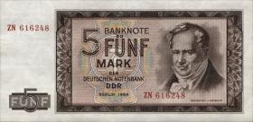 R.354b 5 Mark 1964 ZN Ersatznote (1)