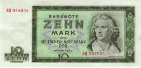 R.355b 10 Mark 1964 ZQ Ersatznote (1)