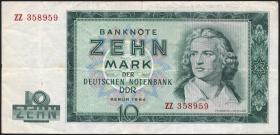 R.355b 20 Mark 1964 ZZ Ersatznote (3)
