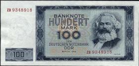 R.358b 100 Mark 1964 ZB Ersatznote  (1)