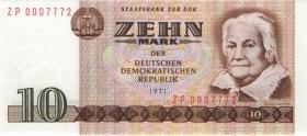 R.359d 10 Mark 1971 ZP Ersatznote (1)