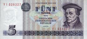 R.361d 5 Mark 1975 YI Ersatznote (1)