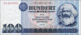 R.363b 100 Mark 1975 ZA Ersatznote (1)