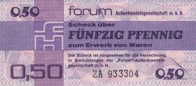 R.367b 50 Pfennig 1979 Forum Ersatznote ZA (1)
