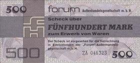 R.373b 500 Mark 1979 Forum Ersatznote (1)