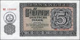 R.374a 5 Mark (1955) Militärgeld (1)