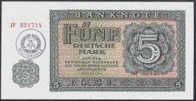 R.374c 5 Mark (1955) Militärgeld Serie JF (1)