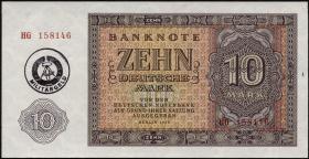 R.375a 10 DM (1955) Militärgeld (1/1-)
