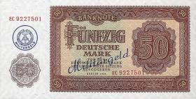 R.387: 50 DM (1955) Militärgeld (1)
