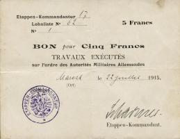 R.408 5 Francs 1915 (3)