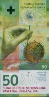 Schweiz / Switzerland P.77 50 Franken 2015 (1)