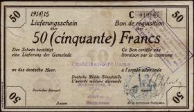 R.418a 50 Francs 18.1.1915 Deichmann-Bon (3)