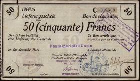 R.418a 50 Francs 18.1.1915 Deichmann-Bon (4)