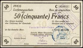 R.418a 50 Francs 1914/1915 (2+)