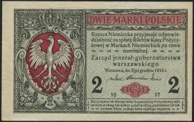 R.441a: Besetzung Polen 2 Marki 1917 (2)