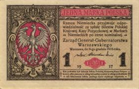 R.450: Besetzung Polen 1 Marka 1917 (1)