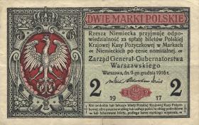 R.451b: Besetzung Polen 2 Marki 1917 B (3)
