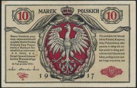 R.453: Besetzung Polen 10 Marek 1917 (2)