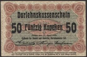 R.458c: Besetzung Russland 50 Kopeken 1916 (3)