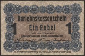 R.459b: Besetzung Russland 1 Rubel 1916 (3)