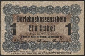 R.459d: Besetzung Russland 1 Rubel 1916 (3)