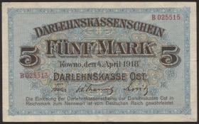 R.467: 5 Mark 1918 (3+)