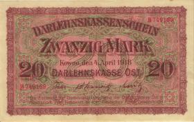 R.468: 20 Mark 1918 (2+)