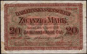 R.468: 20 Mark 1918 (3)
