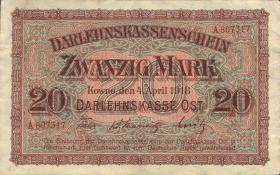 R.468: 20 Mark 1918 (1-)