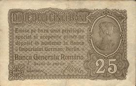 R.472b: Besetzung Rumänien 25 Bani 1917 (2)
