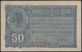 R.473a: Besetzung Rumänien 50 Bani 1917 (2)