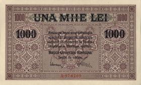R.479a: Besetzung Rumänien 1000 Lei 1917 (1)