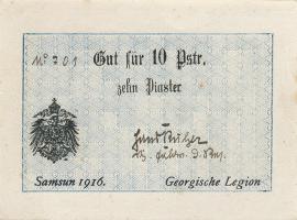 R.485b: Georgische Legion 10 Piaster 1916 (1)