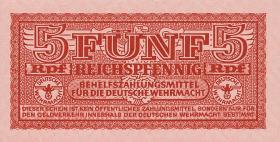 R.502: Wehrmachtsausgabe 5 Reichspfennig o.D. (1942) (2)