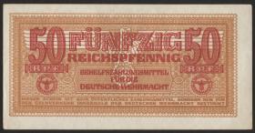 R.504: Wehrmachtsausgabe 50 Reichspfennig (1942) (1/1-)