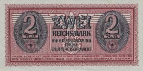 R.506: Wehrmachtsausgabe 2 Reichsmark o.D. (1942) (1/1-)
